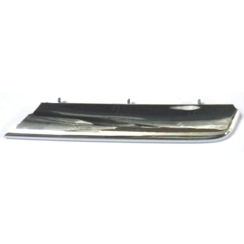modanatura sinistra paraurti anteriore rover 75 cromata