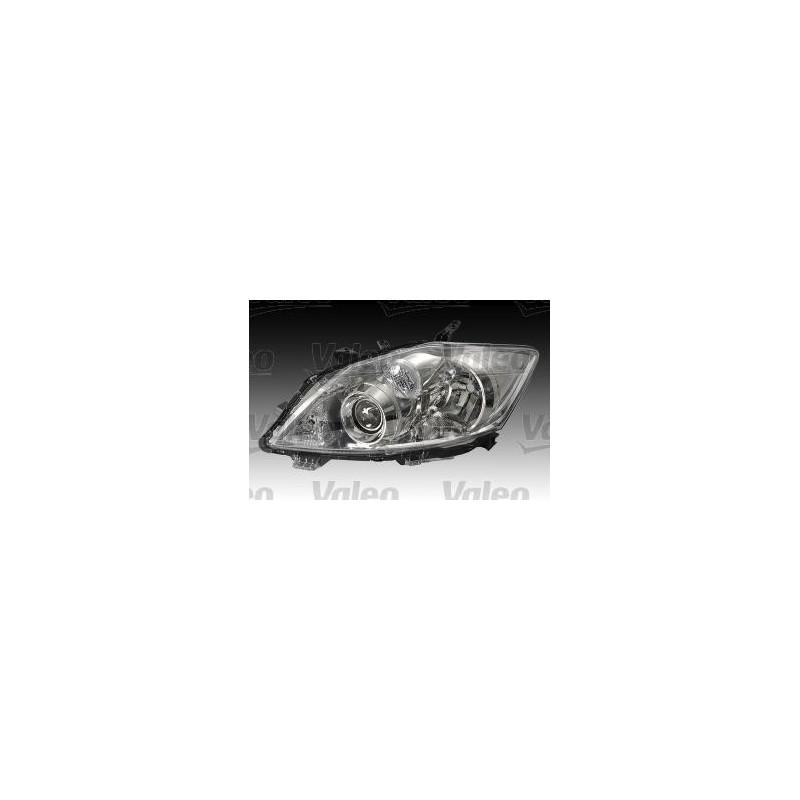 FARO DESTRO H11-HB3 C/MOTORELETT TOYOTA AURIS 03/10 PARABOLA CROM